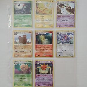 Lot of 8 Rare and Holo Pokémon Cards